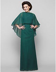 lanting trompet / gelin elbise denizkızı anne - siyah ayak bileği uzunlukta kolsuz forması