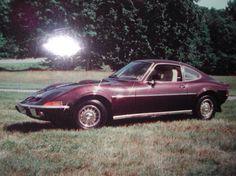 My '71 Opel GT...circa 1980