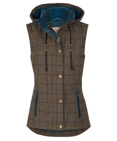 Women's Jack Murphy Sandra Tweed Gilet - Dolish