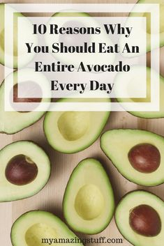 Despite their amazing taste that we simply love, avocados are simply incredibly healthy fruits, and a rich source of numerous vitamins, minerals, and nutrients.Studies have shown that their consumption improves health in countless ways, so we give you 14 more reasons to consume them on a daily basis: