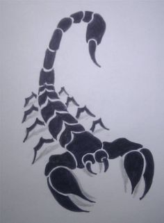 tribal scorpion tattoo by not4every1 on deviantART