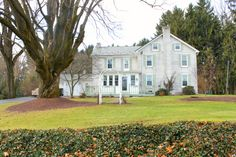 Authentic 1800's colonial/farmhouse on a very private and treed lot in the Upper Macungie area with Parkland Schools. 3994 square feet of upgraded space inside with a fabulous family addition. Historic Home for sale in the Lehigh Valley, Lehigh Valley, Allentown Homes for Sale, The Peter Hewitt Team