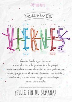 Consejos #2 ¡Poco más que decir...! ¡Feliz Fin de Semana! https://www.youtube.com/watch?v=8gLUhCTvZco #felizviernes #laranacharra #salamanca