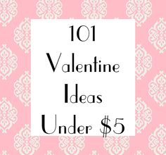 Mud Pie Studio: 101 Valentine Ideas for under $5