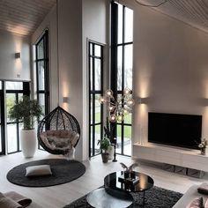 "Interior Design & Decor on Instagram: ""Beautiful Scandi Living Room by @norweg...  #Beautiful #decor #design #Instagram #interior #living #norweg #room #Scandi"