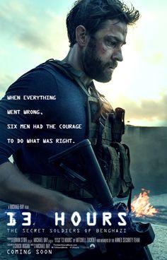 John Krasinski gets his own poster for 13 Hours: The Secret Soldiers of Benghazi