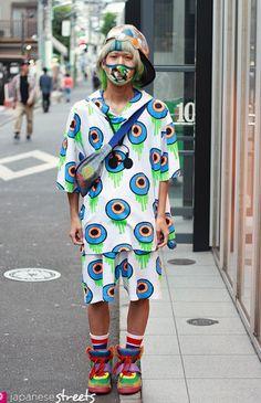 Harajuku street style, In love