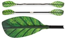 Double paddle for white-water kayak:  CHLOROPHYLL. From nauticexpo.com. OMG this is the cutest paddle EVER! Want!!
