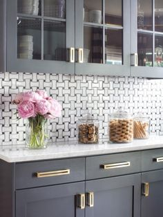 1 - Kitchen Design - Paint Colors - Gray Cabinetry
