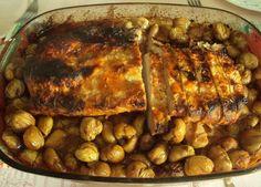 Lombo de Porco com castanhas
