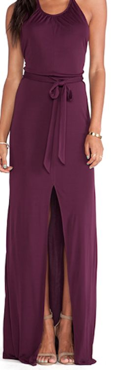 purple maxi dress http://rstyle.me/n/u9c25bna57.  Casual, comfy looking