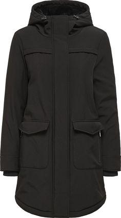 Hooded Parka, Softshell, Hoods, Raincoat, Athletic, Jackets, Products, Fashion, Ribe
