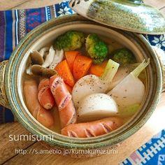 一人暮らしの方の食事を美味しくヘルシーにするには小さな土鍋で鍋料理が一番簡単!鍋が続いても飽きない、絶品レシピを1週間分まとめてご紹介します。
