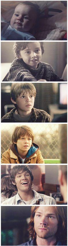 Sam through time. A+ casting :)