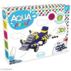 Compra nuestros productos a precios mini Kit Aqua Pearl - Avión - Entrega rápida, gratuita a partir de 89 € ! Kit S, Aqua, Pearls, Mini, Shopping, Water Beads, Gross Motor, Crafts For Kids, Products