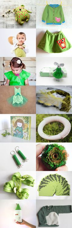 Green in September by MinthaHandmade on Etsy--Pinned with TreasuryPin.com