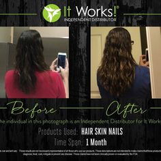 1 month of HSN that hair, skin and nails!! Amazing results!!