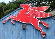 Vintage Mobil Pegasus in West Haven, CT