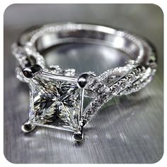Naturally brilliant. Insignia-7060 is artfully handcrafted to shine. Engagement rings by @Verragio
