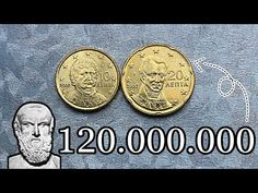 Rare Coin Values, Valuable Coins, Legal Tender, Rare Coins, Greece, Android, Personalized Items, Youtube, Greece Country