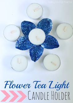 When it comes to candles and glitter, they are a killer combination. The sparkle really creates a magical effect in candlelight. JamieofSome of This and Thatis back with another fun tutorial.She has created these super fun, but inexpensive candle holders using the trays of tea lights. These sparkling flower candle holders can be customized to …