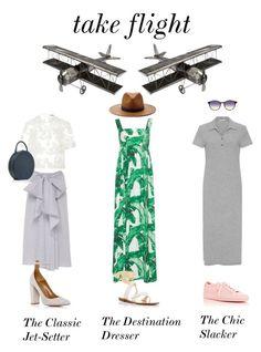 """Take Flight"" by modaoperandi on Polyvore  Dolce & Gabbana, Mansur Gavriel, Aquazzura, James Perse and more!"