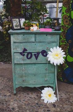 great way to reuse an old dresser you already have