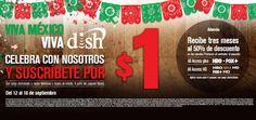 Promoción Dish Fiestas Patrias Suscripción $1 y 50% de descuento