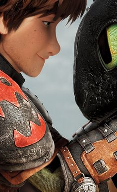 .This image shows that there is nothing better than the relationship between a rider and his dragon