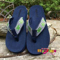 d6620d3ada72 20 Everyday Shoes Ideas For Women. Gingham Sea Turtle Flip Flops ...
