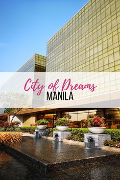 If you want to experience world class entertainment, then you should visit the City of Dreams Manila. Located along Aseana Avenue, corner Roxas Boulevard, City of Dreams is more than just Casino. City Of Dreams Manila, Philippines Destinations, World Travel Guide, Dream City, Entertaining, Table Decorations, Philippines Travel, Funny, Dinner Table Decorations