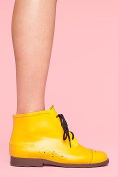 Rainy Day Boot - Yellow