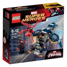 Lego 76036 Marvel Carnage's Shield Sky Attack Set!! New/Sealed! 97pcs!!!~ VHTF  #LEGO