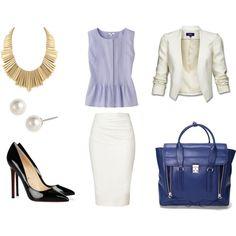 Elegant Business Power Suit