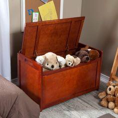 Toy Box For Boys Storage Organizer Chest Furniture Children's Playroom Bedroom  #Lipper