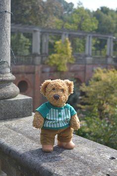 Hampstead Pergola, London | Misiu, our lovely teddy bear