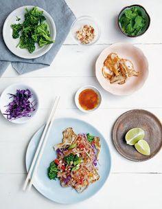 Rainbow Thai Stir-Fry from Kenko Kitchen - the cookbook (vegan, gluten free)