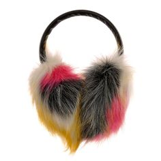 ZLYC Women Dye Neon Color Faux Fur Earmuffs with PU Adjustable Headband Earwarmer ** Don't get left behind, see this great  product : Best Travel accessories for women