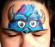 Awesome work. Sully facepainting!