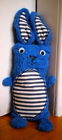 blue bunny EASY to make