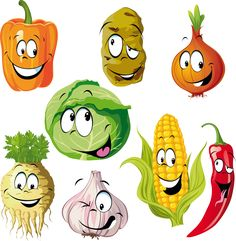 Find Funny Vegetable Spice Cartoon Isolated On stock images in HD and millions of other royalty-free stock photos, illustrations and vectors in the Shutterstock collection. Thousands of new, high-quality pictures added every day. Funny Fruit, Cute Fruit, Cartoon Faces, Cartoon Drawings, Funny Vegetables, Cartoon Vegetables, Vegetable Cartoon, Vegetable Illustration, Vip Kid