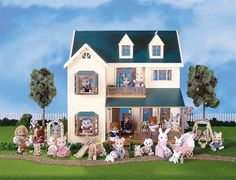 Calico Critters - Deluxe Village House by International Playthings - $119.95