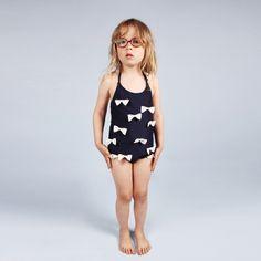 This is the cutest bathing suit!  Designed by Mini Rodini // claradeparis.com adore!
