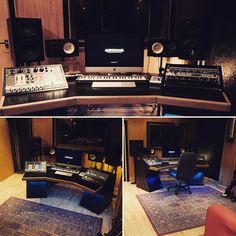 Hurricane Studio Pro XL #handmadefurniture #woodworking #recordingstudio #musicproducer #carpentry #recordingstudio