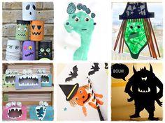 Bricolage Halloween sorciere monstre