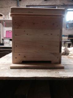 Petite ruchette pour abeille mobile fait main : Animaux par palcreassion