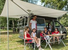 Fiamma Compass Swing Out Canopy Awning for SUV and Campervan , Motorhome Caravan Awning - Grasshopper Leisure Vw T5, Vw Camping, Minivan Camping, Camping Hacks, Caravan Awnings, Roof Rails, Transporter, Campervan, Van Life