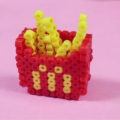 MacDonalds fries perler beads by 082noie