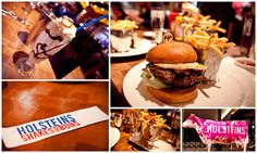 """Holsteins, the best burger in Vegas.  Try their amazing """"bamboozled"""" shakes."""