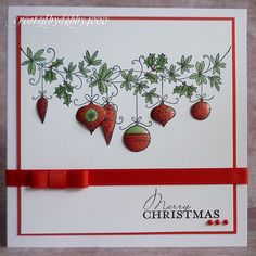 So who waited up till silly o'clock to buy the new Lily of Valley Christmas stamps. OK that would be me then. Well not really I'm having pro...